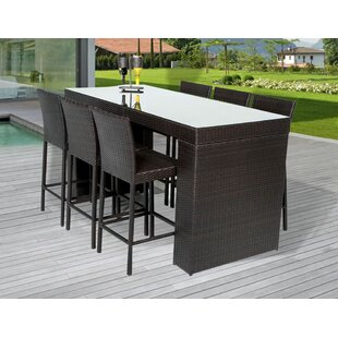 Great Napa 5 Piece Bar Height Dining Set