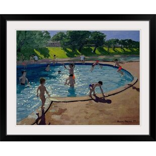 Swimming Pool By Andrew Macara Painting Print
