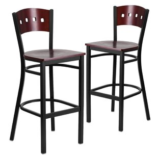 Chafin 30 Bar Stool (Set Of 2) by Winston Porter Best #1