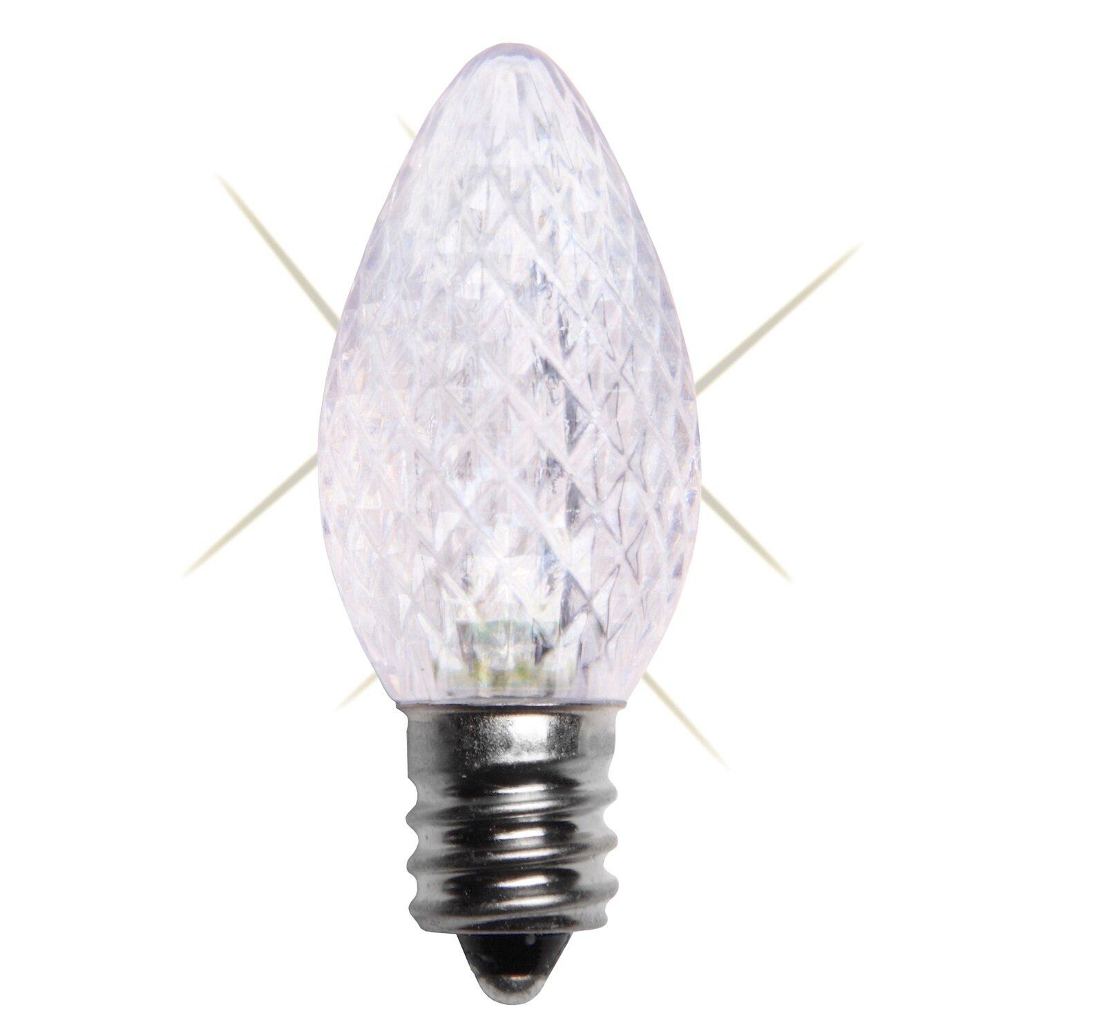 Wintergreen Lighting 0.96W 130-Volt LED Light Bulb (Pack of 25 ...
