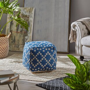 Pascua Boho Pouf by Breakwater Bay