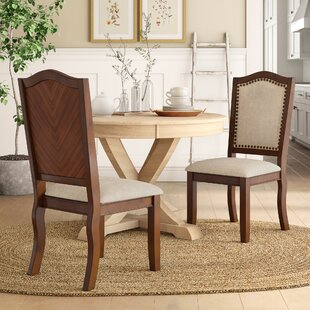 Reviews Chevaliers Upholstered Dining Chair (Set of 2) by Birch Lane™ Heritage Reviews (2019) & Buyer's Guide