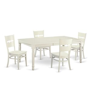 Carmel 5 Piece Dining Set by August Grove Cheap
