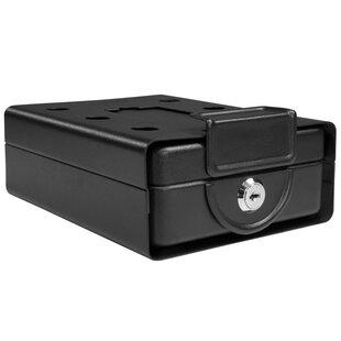 Barska Drawer Style Compact Key Lock Safe with Lid