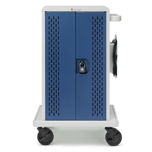 36-Compartment Tablet Storage Cart by Bretford Manufacturing Inc