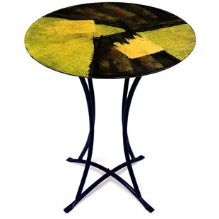 End Table by Jasmine Art Glass