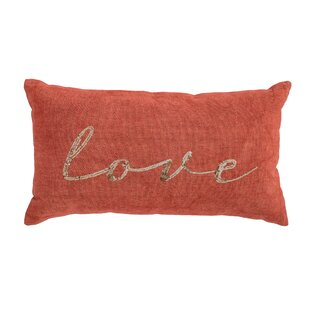 Nisha Love Cotton Lumbar Pillow
