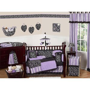 kaylee 9 piece crib bedding set
