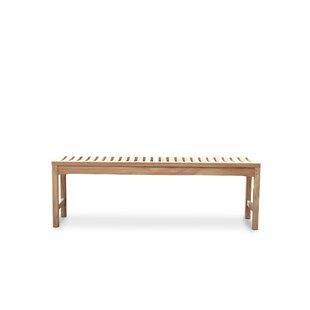 Claribel Teak Bench By Sol 72 Outdoor