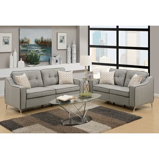 Tufted Cushions Living Room Sets You\'ll Love in 2019 | Wayfair