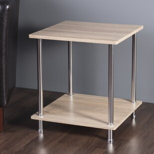 Adelinna 2 Tier End Table by Latitude Run
