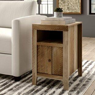 Knotty Pine End Table | Wayfair