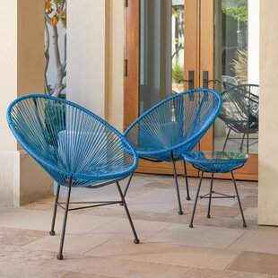 Wrought Studio Repass Modern Papasan Chair (Set of 2)