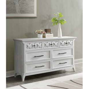 Jesse 7 Drawer Double Dresser