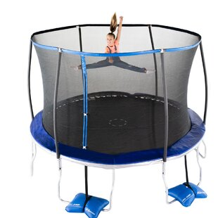 TruJump 12' Round Trampoline with Safety Enclosure