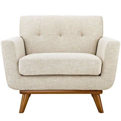 Langley Street Johnston Club Chair Upholstery Beige