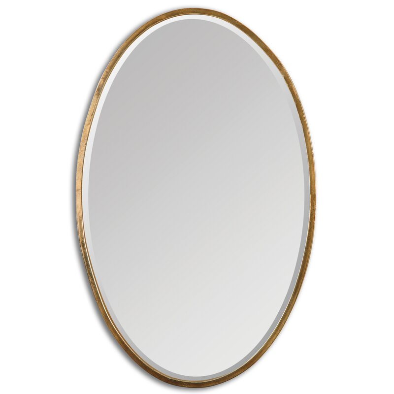 Dudley Gold Oval Accent Mirror