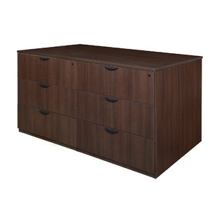 Latitude Run Linh Stand Up Quad 6-Drawer Lateral Filing Cabinet