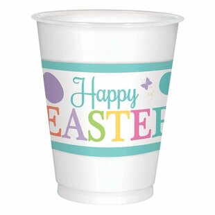 Lovely Easter Plastic Disposable Cup (Set of 25)