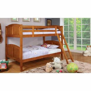 Reviews Crags Twin over Twin Bunk Bed by Harriet Bee Reviews (2019) & Buyer's Guide