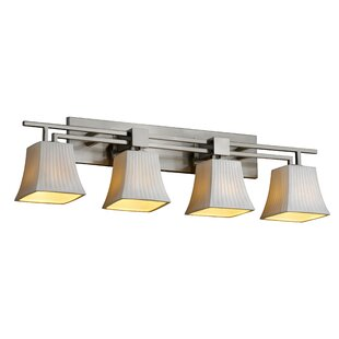 Reviews Darrien 4-Light Vanity Light By Brayden Studio