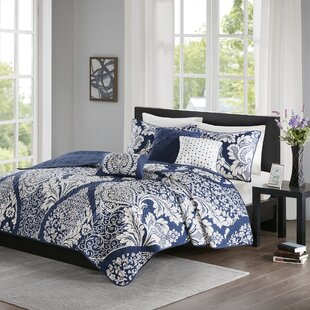 Bingaman 6 Piece Reversible Coverlet Set