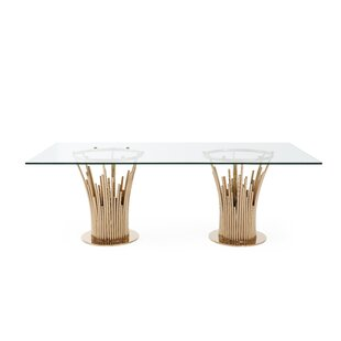 Tyronza Modern Dining Table by Everly Quinn Fresh
