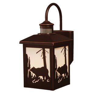 Read Reviews Jensen 1-Light Outdoor Wall Lantern By Loon Peak