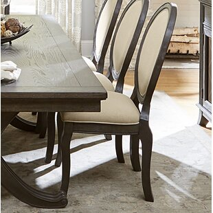 Baltimore Upholstered Dining Chair (Set of 2) by Canora Grey