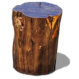 Solid Wood Block End Table by Arditi Collection