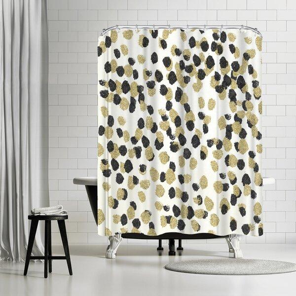 Glam Shower Curtain Wayfair