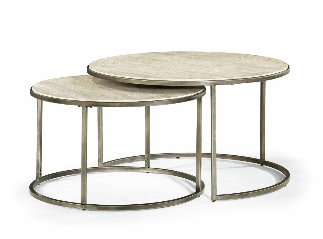 brayden studio masuda nesting coffee table u0026 reviews wayfair