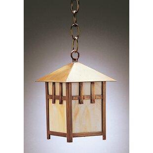 Northeast Lantern Lodge 1-Light Outdoor Hanging Lantern