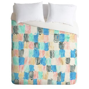 East Urban Home Light Rain Duvet Cover Set
