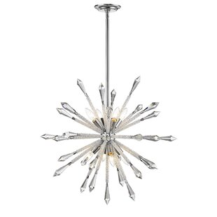 Brayden Studio Pickering 8-Light Sputnik Chandelier