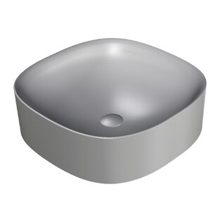 Affordable Wild Ceramic Ceramic Square Vessel Bathroom Sink ByWS Bath Collections