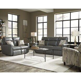 Knockout Leather Reclining Sofa