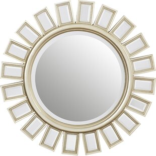 Sunburst Beveled Wall Mirror