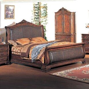 Tipton Sleigh Platform  Bed by Wildon Home