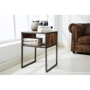Alanson End Table with Storage by Union Rustic