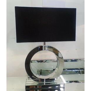 Apollo Mirror Circle 27.6 Table Lamp