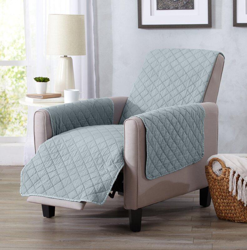 Great Bay Home Box Cushion Recliner Slipcover & Home Fashion Designs Great Bay Home Box Cushion Recliner Slipcover ... islam-shia.org