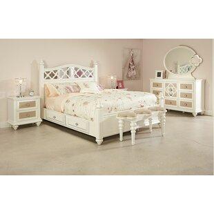 Najarian Furniture Paris Panel Configurable Bedroom Set