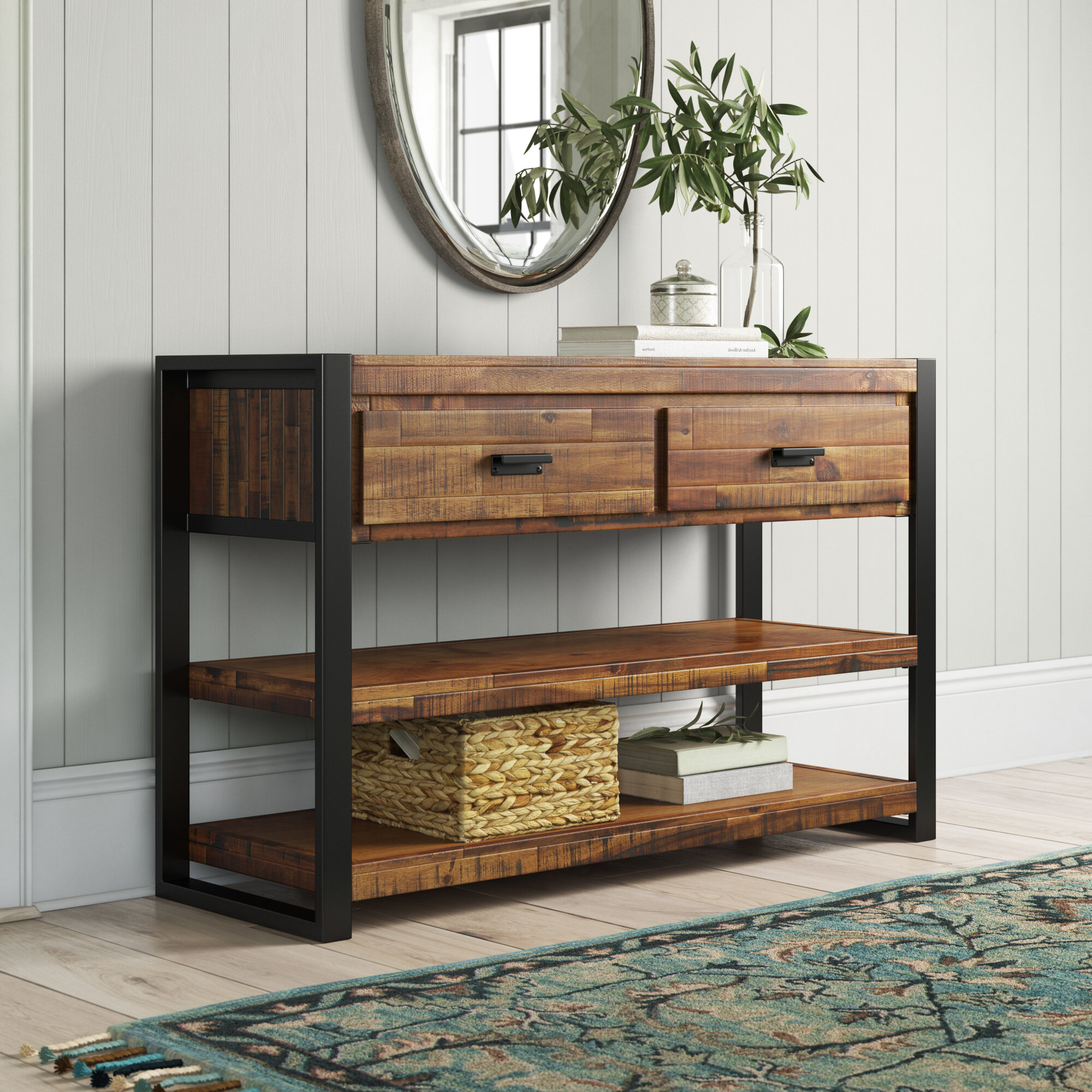 Keyes 50 Solid Wood Console Table Reviews Birch Lane