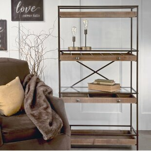Cooksey Display Shelf Etagere Bookcase by Gracie Oaks