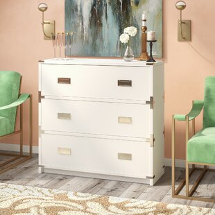 Norene 3 Drawer Chest by Everl..