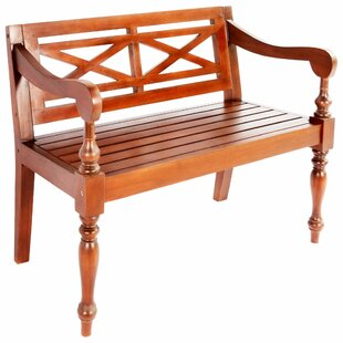 Stetson Wooden Bench By Sol 72 Outdoor