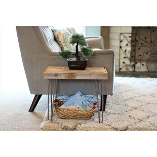 Phyllida Pin Leg End Table by Union Rustic