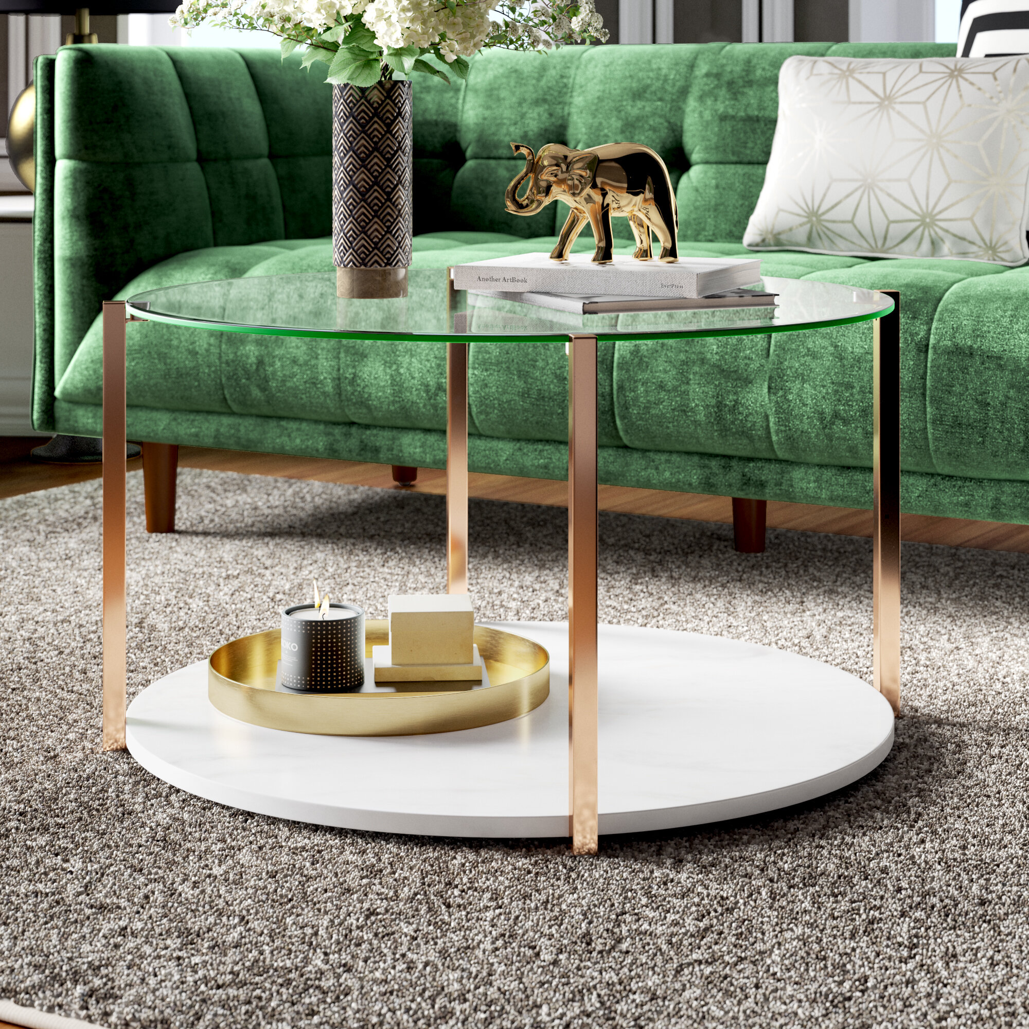Mercer41 Hartranft Coffee Table With Storage Reviews Wayfair