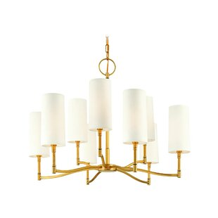 Rosdorf Park Katya 9-Light Shaded Chandelier